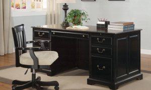 Modern-Black-Wooden-Desk-Chair-Ideas