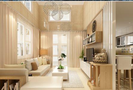 Phòng khách sang trọng tiện nghi có nội thất Song Vũ