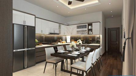 bếp đẹp nội thất Song Vũ sang trọng