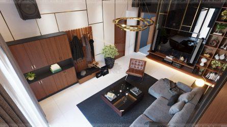 phòng khách sang trọng nội thất hiện đại