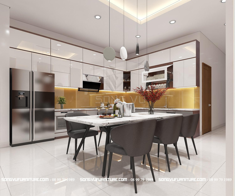 Bếp đẹp Nội thất hiện đại Song Vũ