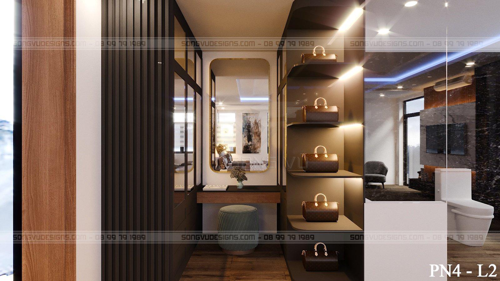 Phòng ngủ sang trọng nội thất Song Vũ